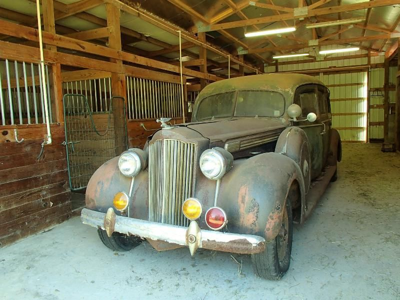 1938 Packard Hearse For Sale