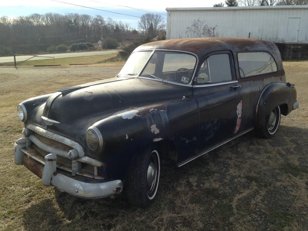 1950 Chevrolet Econo Hearse Sedanette For Sale
