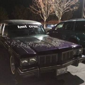 rare 1934 Oldsmobile Henney Hearse for sale