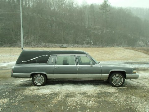 1991 Cadillac Fleetwood Hearse by S&S for sale