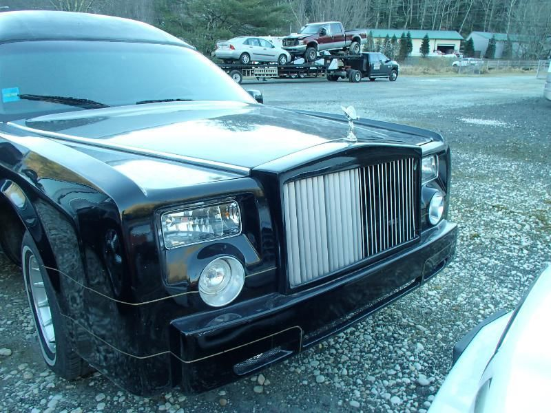 1995 Lincoln Town Car Hearse Rolls Royce Phantom Replica