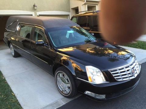 2009 Cadillac DTS Hearse for sale