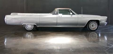 1968 Cadillac Hearse flower car Hess & Eisenhardt for sale