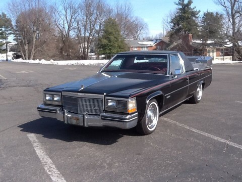 1983 Cadillac DeVille Flower Car for sale