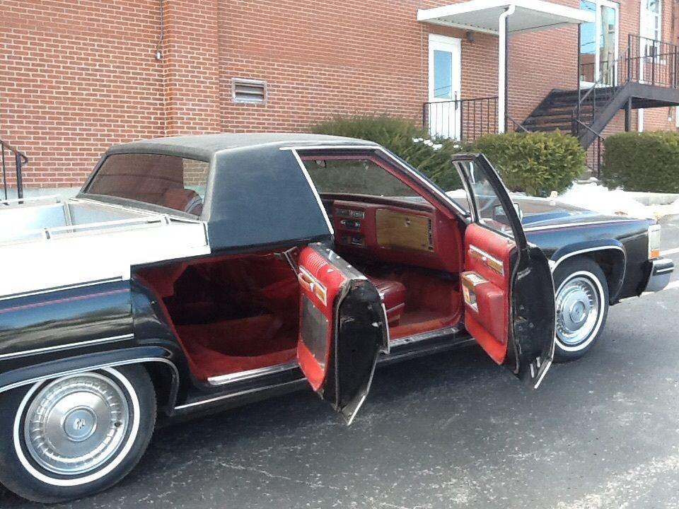 1983 cadillac deville flower car for sale