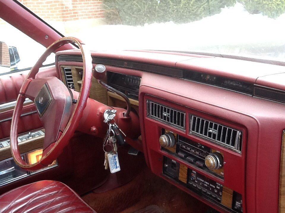 1983 Cadillac DeVille Flower Car