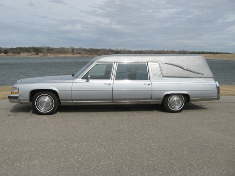 1989 Cadillac Brougham Hearse by Superior for sale