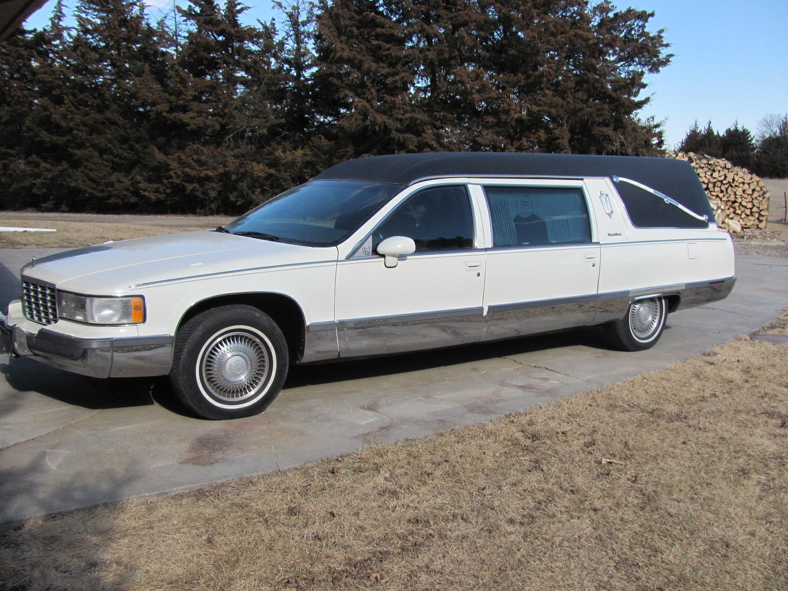 1994 cadillac deville hearse for sale. Black Bedroom Furniture Sets. Home Design Ideas