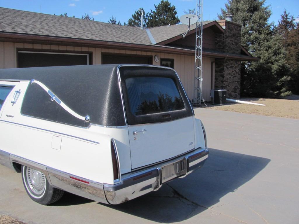 1994 Cadillac Deville Hearse
