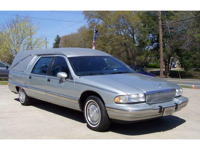 Buick Roadmaster Estate Wagon Hearses For Sale on 1989 Buick Lesabre White