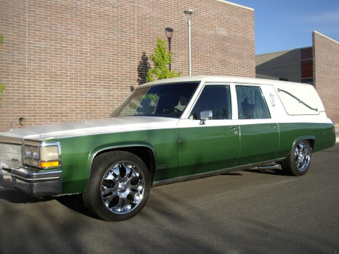 1983 Cadillac Hearse by S&S for sale
