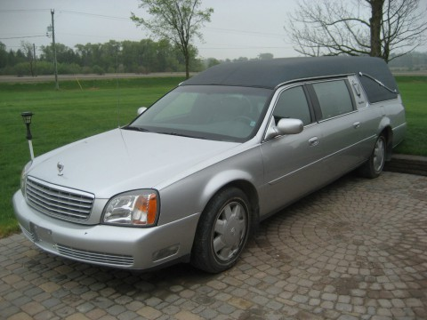 2002 Cadillac Deville Funeral by S&S for sale