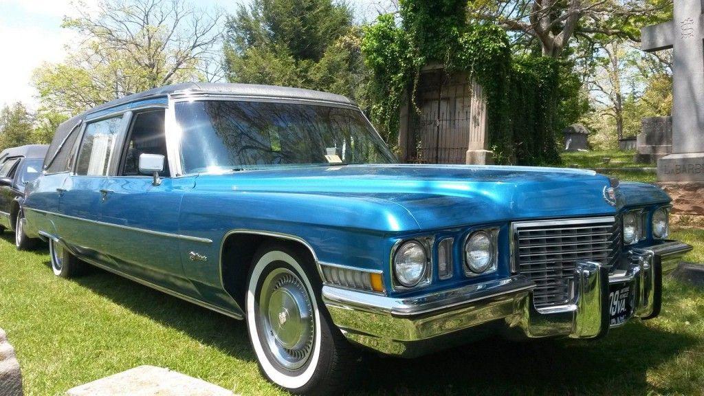 1972 Cadillac Victoria S Amp S Victoria Hearse For Sale