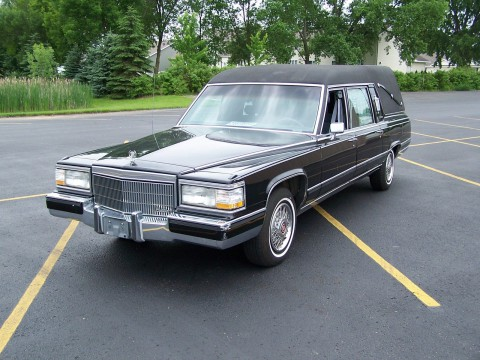 1991 Cadillac Brougham Fleetwood Brougham S & S Victoria conversion for sale