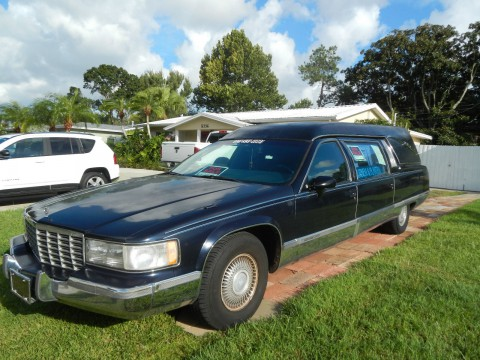 1994 Cadillac Brougham Hearse by Superior for sale