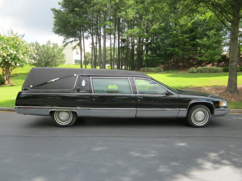 1995 S&S Cadillac Hearse for sale
