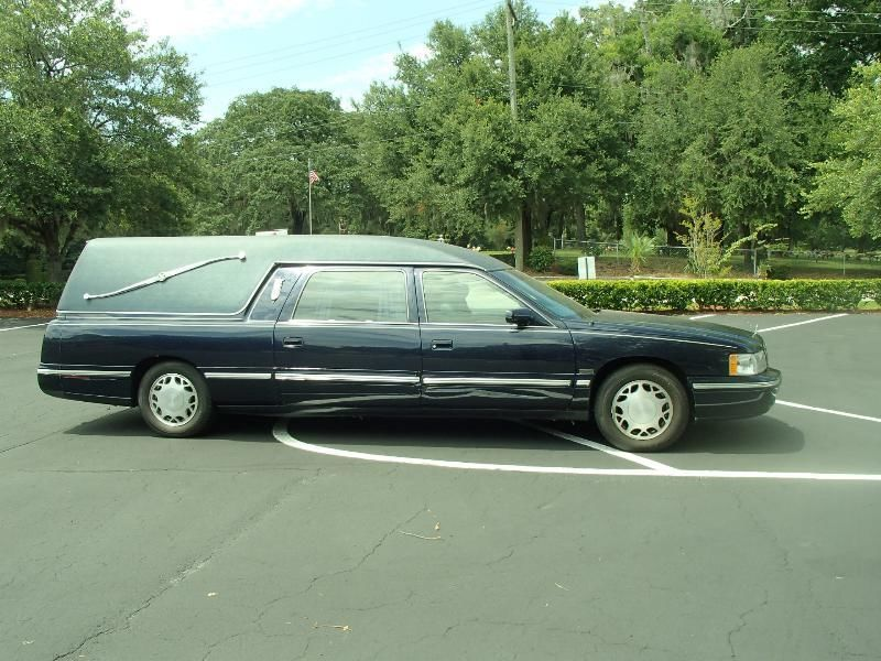 1998 cadillac deville hearse for sale. Black Bedroom Furniture Sets. Home Design Ideas