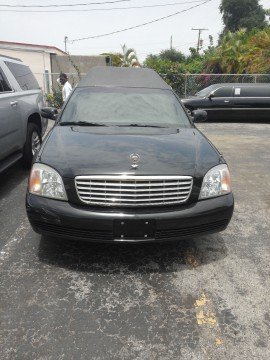 2001 Cadillac DeVille Hearse 200 for sale