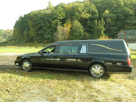 2003 Cadillac Deville Funeral Hearse for sale