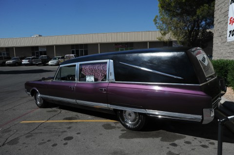 1965 Oldsmobile Ninety Eight Un Dead Sled Hearse for sale