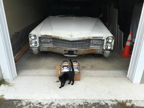 1966 Cadillac Miller Meteor Landau Hearse for sale