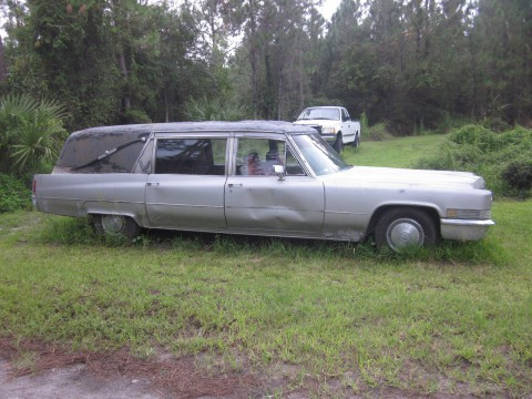 1970 Cadillac S&S Hearse for sale
