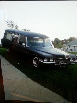 1971 Cadillac Hearse / Ambulance 472 Big Block Ultimate Halloween prop. for sale