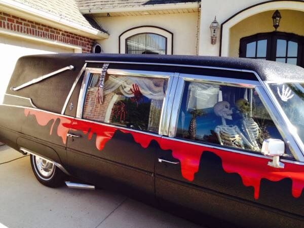 1974 Cadillac Superior Hearse