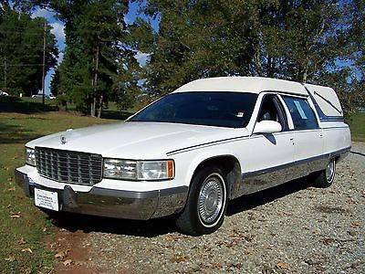 1996 Cadillac Fleetwood Hearse M&M Funeral Wagon for sale