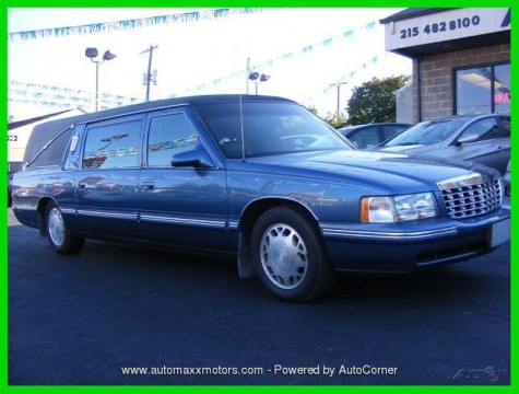 1999 Cadillac Deville Hearse for sale