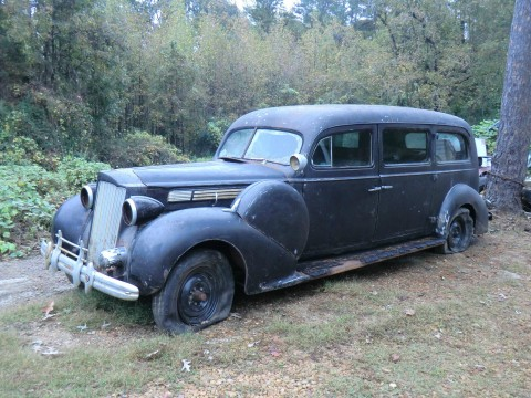 1939 Packard Model 893 Henney Limo Hearse Ambulance for sale
