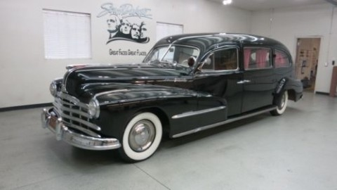 1948 Pontiac Streamliner w / Superior Brand Body 2 Dr.Hearse. for sale