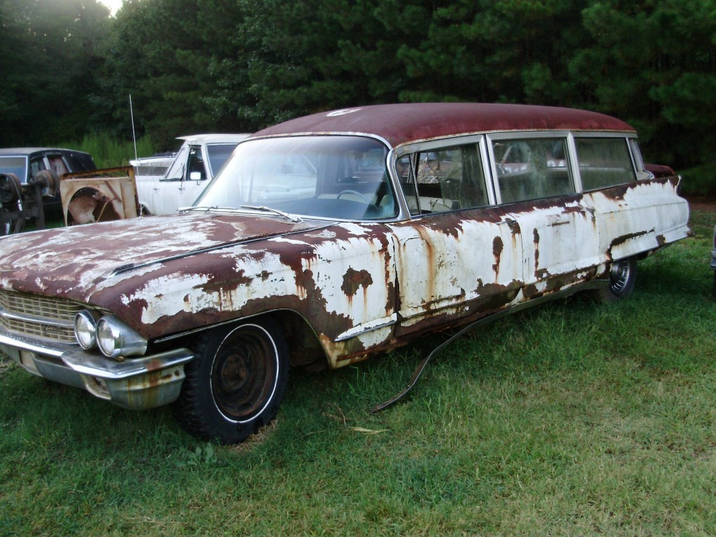 1962 Cadillac Miller Meteor Combination Ambulance/hearse