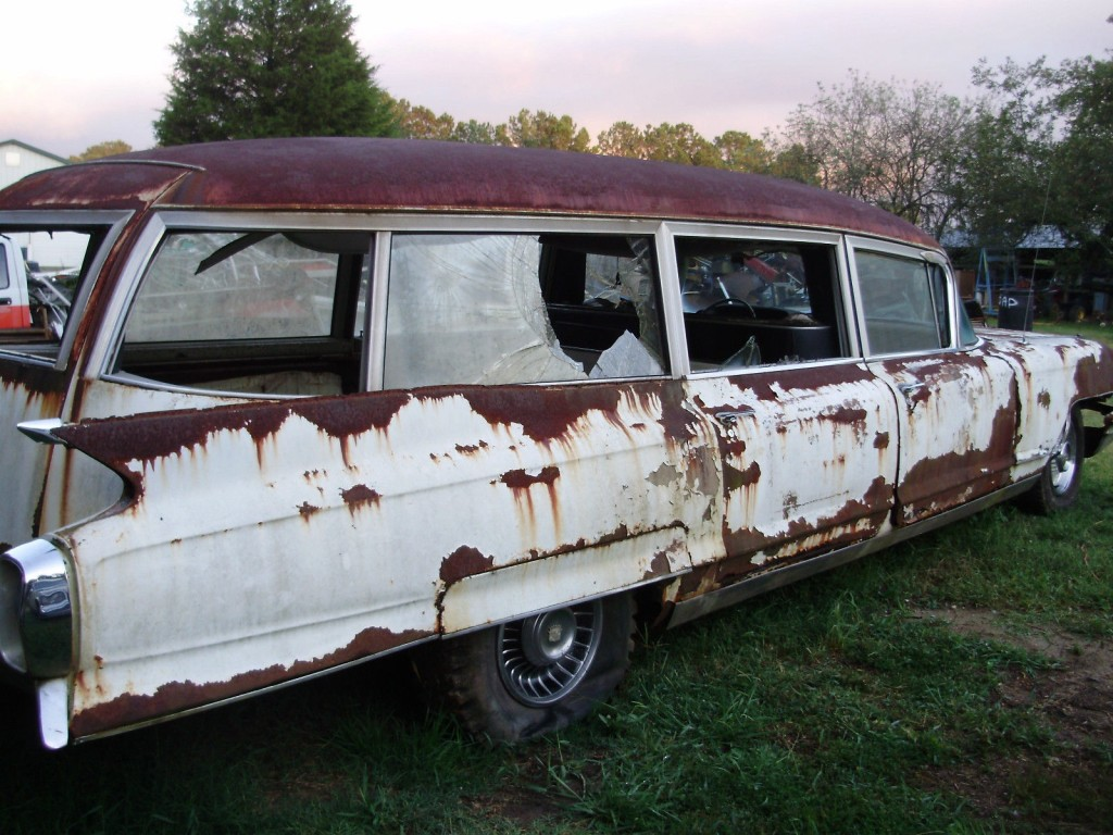 1962 Cadillac Miller Meteor Combination Ambulance Hearse