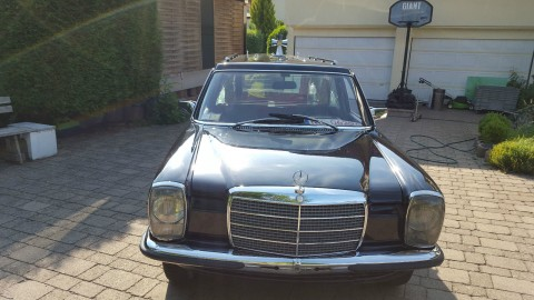 1976 Funeral Coach Mercedes Benz Hearse [w115] /8 200 diesel for sale