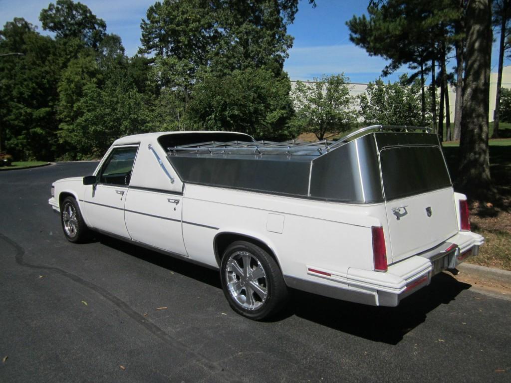 1987 Cadillac Flower Car Hearse For Sale