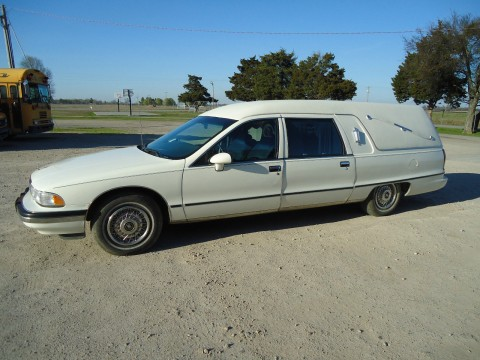 1991 Buick Roadmaster Custom Built S&S Victoria Hearse for sale