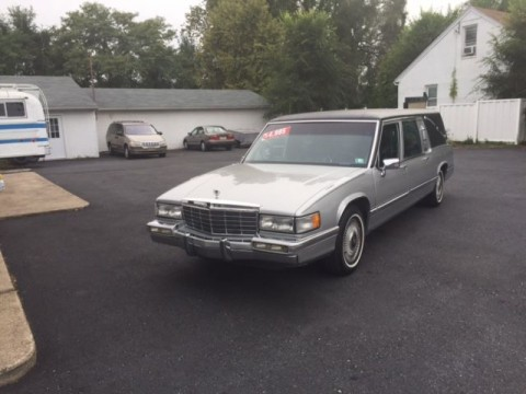 1992 Cadillac Fleetwood S&S Victoria Funeral Hearse for sale