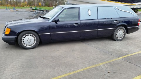 1992 Mercedes Benz Hearse for sale