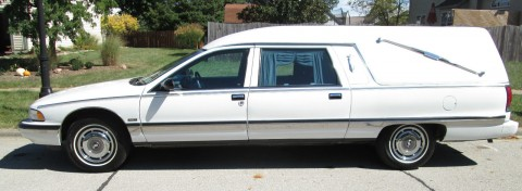 1995 Buick Roadmaster Eagle Coach Hearse for sale