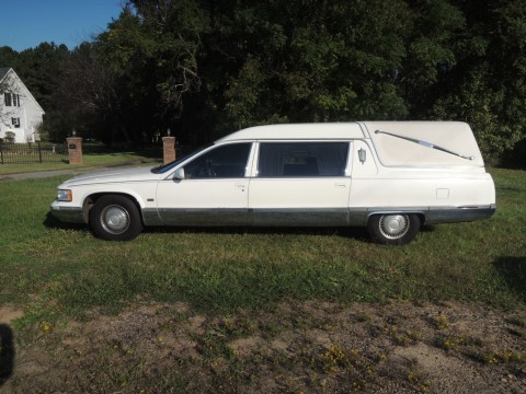 1995 Cadillac Fleetwood Hearse for sale