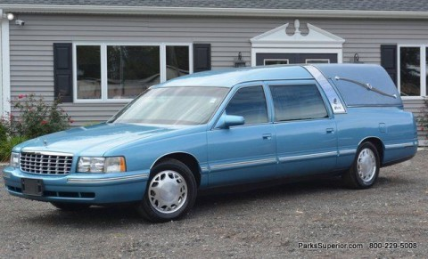 1999 Cadillac Deville Crown Soveriegn Hearse for sale