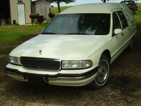 Haunted Hearse !! 1991 Buick Roadmaster Custom Built S&S Victoria  GHOSTBUSTERS! for sale