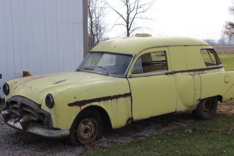 1953 Packard Henny Junior  Hearse / Ambulance for sale