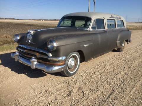1954 Pontiac HEARSE AMBULANCE PROFESSIONAL SERVICE VEHICLE for sale