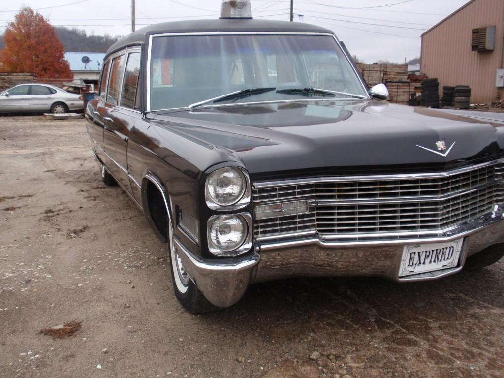 1966 cadillac hearse