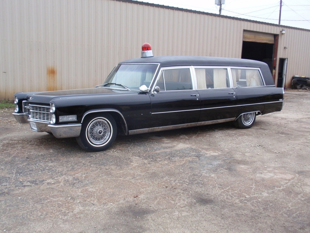 Old Ambulance For Sale >> 1966 Cadillac Fleetwood M & M HEARSE/AMBULANCE for sale
