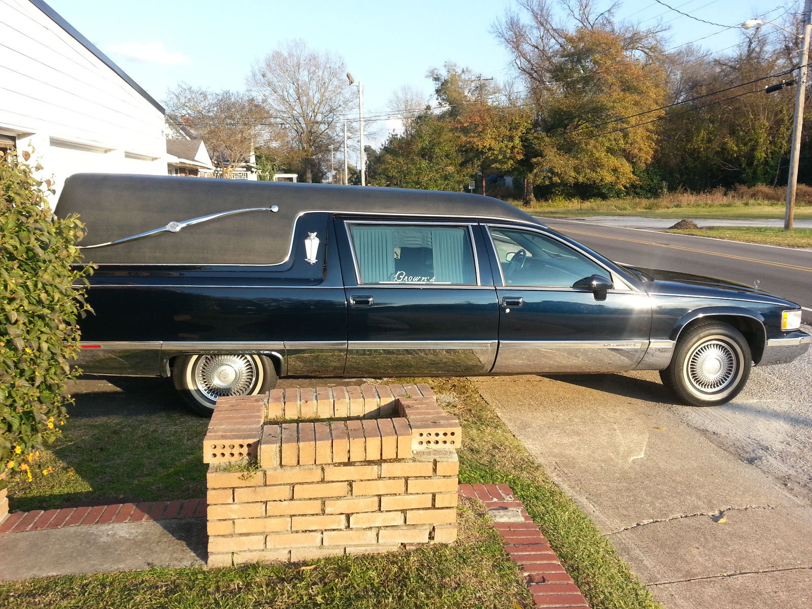 1994 cadillac fleetwood hearse for sale. Cars Review. Best American Auto & Cars Review