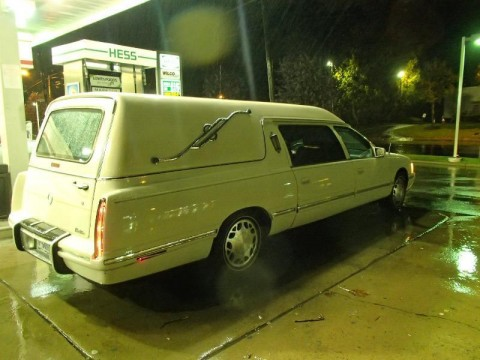 1997 Cadillac Deville Hearse Funeral Limo for sale