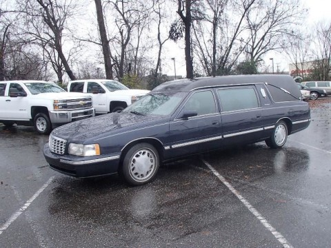 1997 Cadillac DeVille Hearse Limo for sale